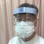 飛沫感染防止のためにフェイスシールドを導入しました!の詳細へ